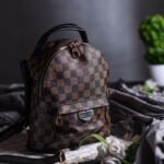 LILY BACKPACK BROWN CHECKS